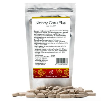 Sensipharm Kidney Care Plus - Paard 80 tabl. a 1000 mg