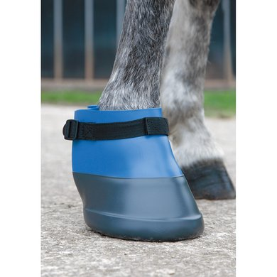 Shires Hoefschoen Rubber Blue
