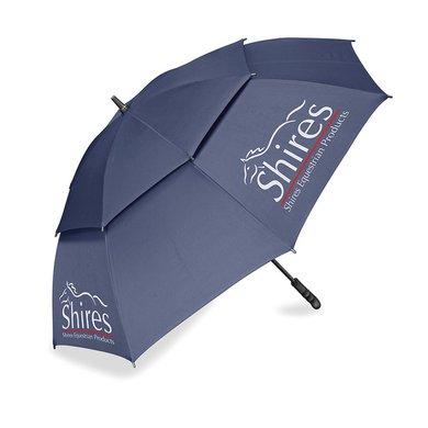 Shires Paraplu met Ventilatiegaten Navy 150cm