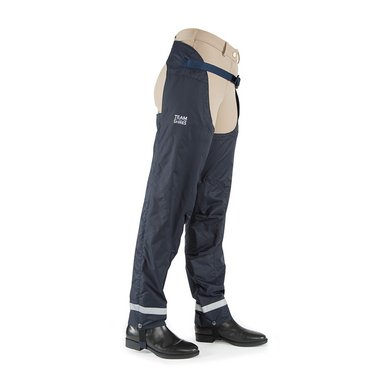 Team Shires Chaps  Waterproof Navy