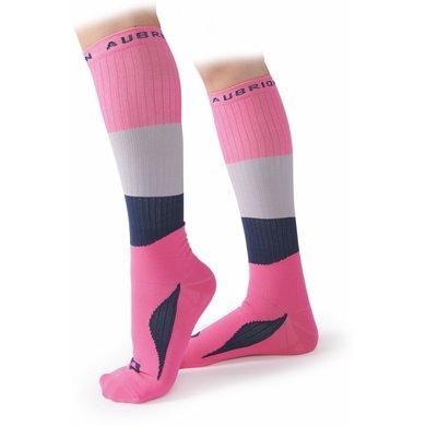 Aubrion Sokken Perivale Compression Roze Volwassen