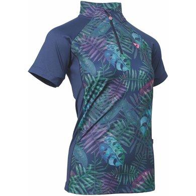 Aubrion Shirt Highgate Korte Mouwen Kids Tropical 9/10YRS