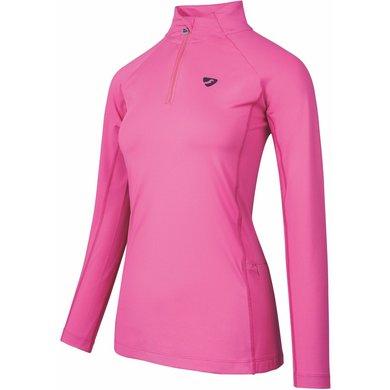 Aubrion Shirt Newbury Lange Mouwen Kinderen Roze 11/12YR