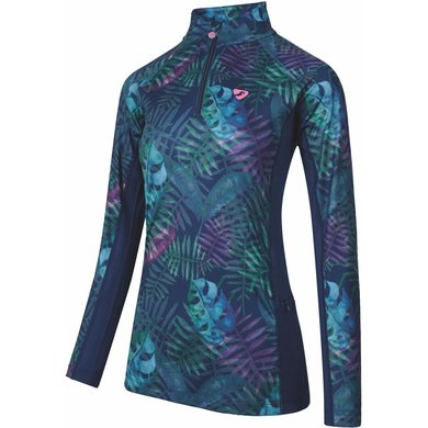 Aubrion Shirt Newbury Lange Mouwen Kinderen Tropical 11/12YR