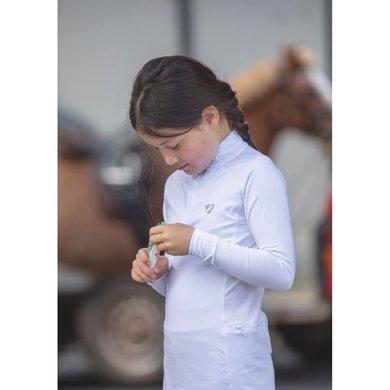 Aubrion Shirt Newbury Lange Mouwen Kinderen White 13/14YR