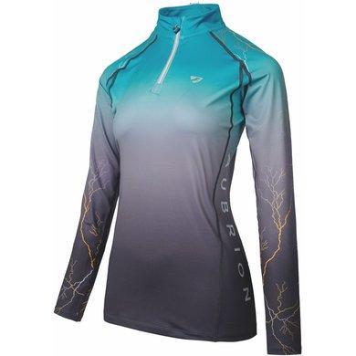 Aubrion Shirt Hyde Park XC Teal Lightening XL
