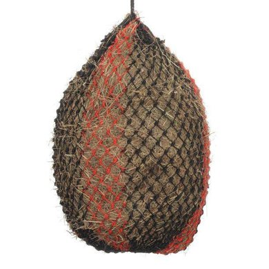 Shires Haylage Net Deluxe Black/Red L
