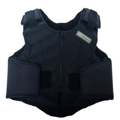 Equest Bodyprotector kinder Zwart L