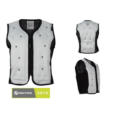 Inuteq Cooling vest ATANEQ dry cooling Zilver XS