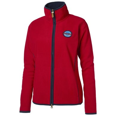 Mountain Horse Fleece Vest Lara Royal Red