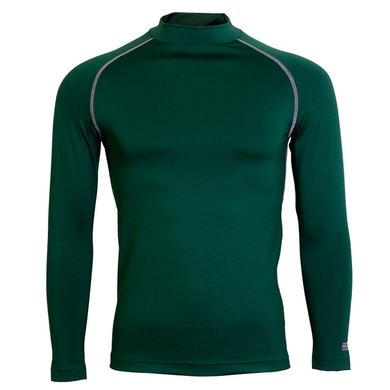 Rhino Rugby Thermoshirt Rhino LMouw Volw Donker Groen S/M