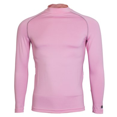 Rhino Rugby Thermoshirt Rhino LMouw Volw Licht Roze S/M