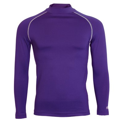 Rhino Rugby Thermoshirt Rhino LMouw Volw Paars S/M
