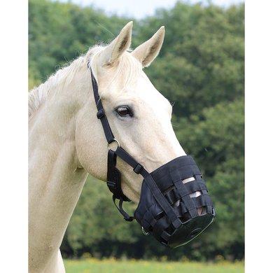 Shires Graasmasker Shires COMFORT Zwart Pony