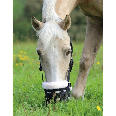 Shires Graasmasker Shires DELUXE Zwart Pony