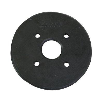 Equest Bitschijf rubber SPECIAL Zwart L
