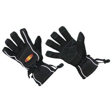 Rider Pro Thermafur Handschuh Schwarz L/XL