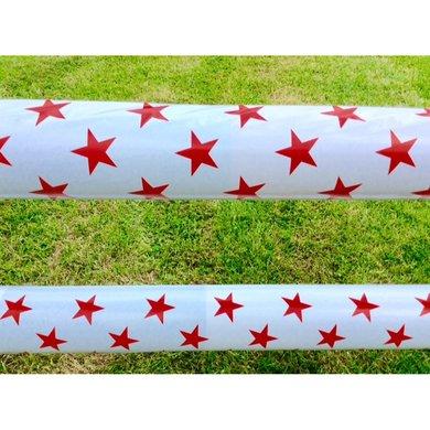 Jumpstack Hoes voor Springbalk White/Red Stars