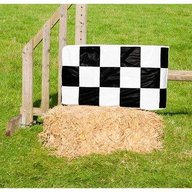 Jumpstack Hoes voor Hooi-/strobaal Jump Black Check/Hearts