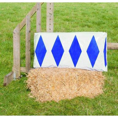 Jumpstack Hoes voor Hooi-/strobaal Jump Blue Brick/Diamond