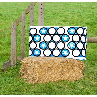Jumpstack Hoes voor Hooi-/strobaal Jump Blue Circle/Zig Zag