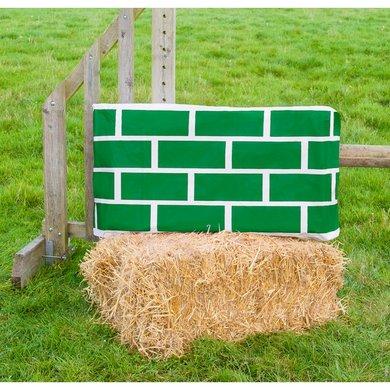 Jumpstack Hoes voor Hooi-/strobaal Jump Green Brick/Diamond