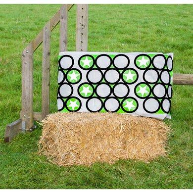 Jumpstack Hoes voor Hooi-/strobaal Jump Green Circle/Zig Zag