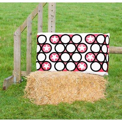 Jumpstack Hoes voor Hooi-/strobaal Jump Pink Circle/Zig Zag