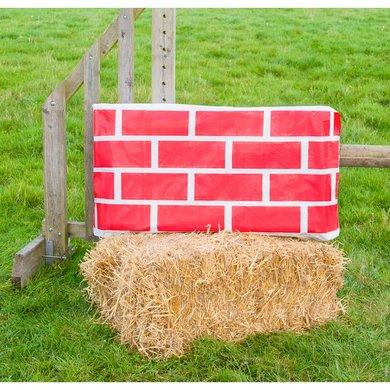 Jumpstack Hoes voor Hooi-/strobaal Jump Red Brick/Diamond