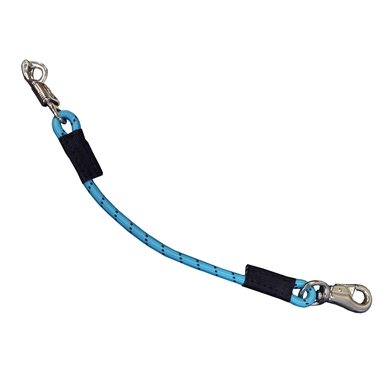 Rider Pro Vastzetlijn elastisch Teal 60cm