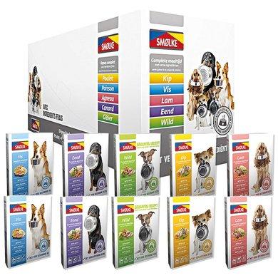 Smolke Hond Vers Gestoomd Mixdoos 10x395gr
