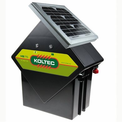 Koltec Set Solaire avec Panneau Solaire 5W 0,5 Joule