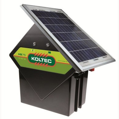 Koltec Solarset HS75 met Zonnepaneel 10W