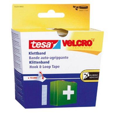 Tesa Klitteband Wit 55225