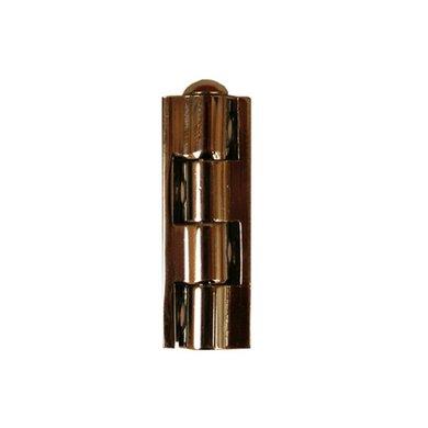 Blokscharnier vernikkeld 40mm(2)QLINQ
