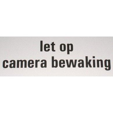 Agradi Aanduidingsbord camerabewaking