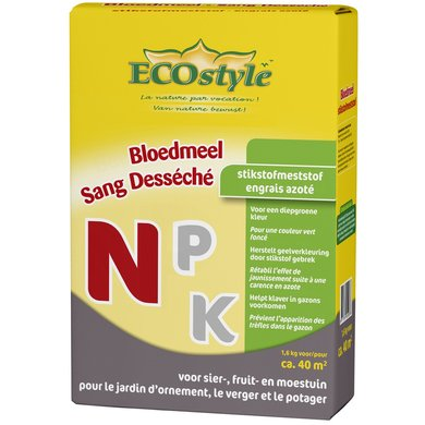 Ecostyle Bloedmeel 1.600gr
