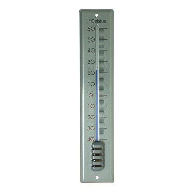 Hendrik Jan Thermometer Zilver 30cm