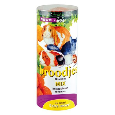 Esve Knaagdierbroodjes Mix-bo S 4st