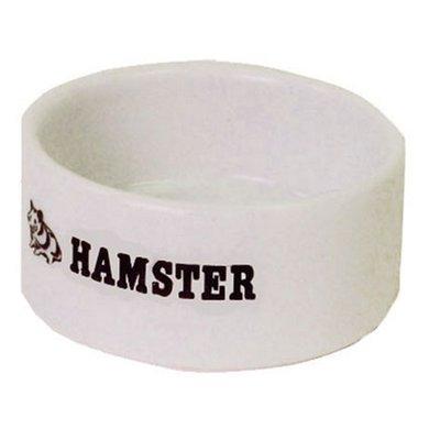 Tijssen Hamster Eetbak Steen Wit 6cm