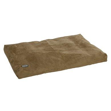 Buster Memory Olive Foam Dog Bed 120x100cm