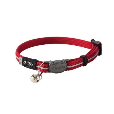 Rogz AlleyCat Halsband Rood