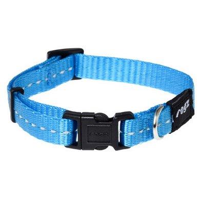 Rogz Nitelife Halsband Turquoise 11mm - 3/8