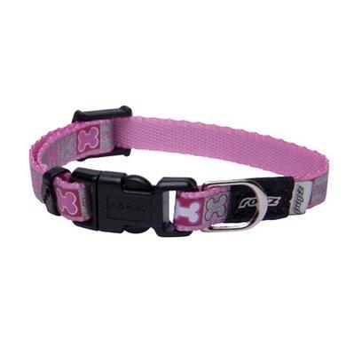 Rogz Reflecto Halsband Pink