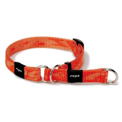Rogz Everest Choker Oranje 25mm - 1