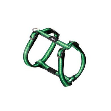 Rogz Midget Tuigje Groen 11mm - 3/8