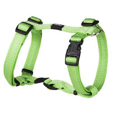 Rogz Snake Tuigje Lime Groen 16mm - 5/8
