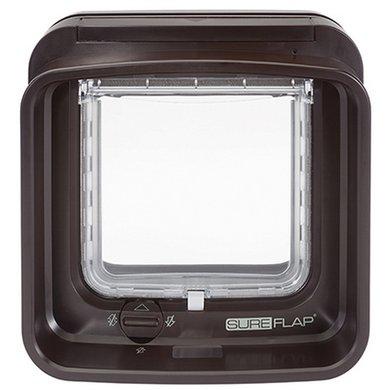 SureFlap DualScan Kattenluik Bruin B14,2cmxH12cm