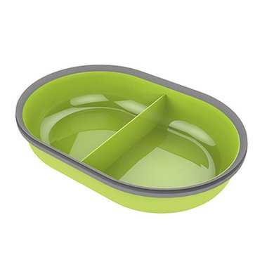 SureFlap Feeder Bowl Dubbel Voerbak Groen