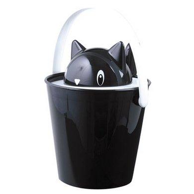 United Pets Food cont. Crick Black 20x20x28cm